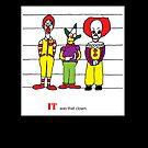 Clown Lineup by jeffaz81