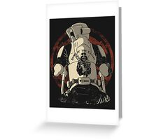 The baddest bikers club of the universe. Greeting Card