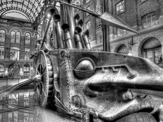 The Navigators - Hay's Galleria - London HDR by Colin J Williams Photography