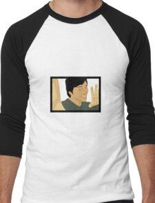 Jackie Chan Vector Men's Baseball ¾ T-Shirt