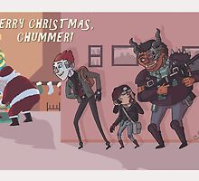 Merry Christmas, Chummer by Skulldixon