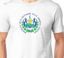 Escudo Nacional de El Salvador Unisex T-Shirt