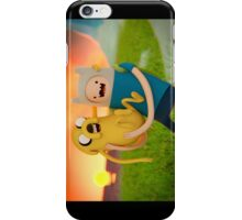 Adventure Time - Jake and Finn iPhone Case/Skin