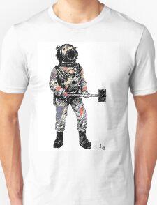 The diver Unisex T-Shirt
