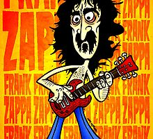 Frank Zappa Caricature by MattHercock1