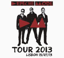 Depeche Mode : Delta Machine Tour 2013 - Lisbon 13-07-13 by Luc Lambert