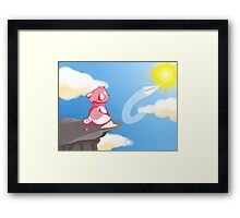 Paper airplanes Framed Print