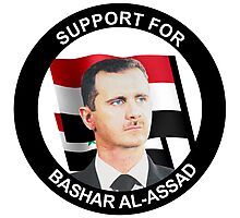 Support for Assad Photographic Print