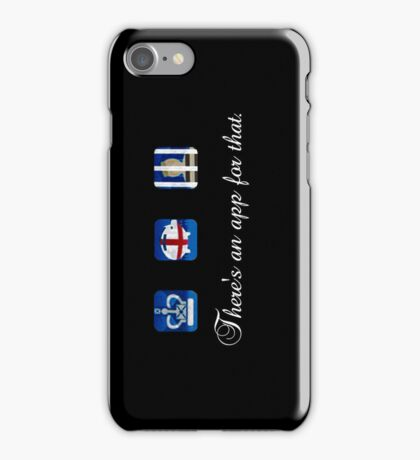 There's an app for that. iPhone Case/Skin