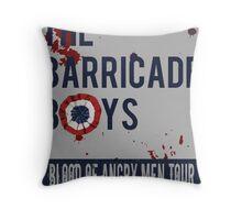 The Barricade Boys World Tour Throw Pillow