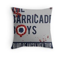 The Barricade Boys World Tour Throw Pillow