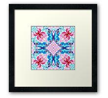 EIGHT FANTASY BUTTERFLIES Framed Print