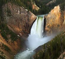 Lower Yellowstone Falls by DArthurBrown