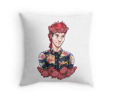 Flower Dun Throw Pillow