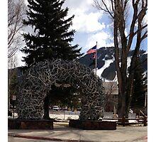Jackson Hole, Wyoming square Photographic Print