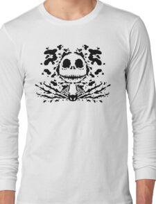 Jack Skell-ink-ton (black) Long Sleeve T-Shirt