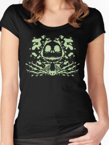 Jack Skell-ink-ton (light) Women's Fitted Scoop T-Shirt