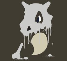 Cubone Paint Splatter  by Scribble-Rapo