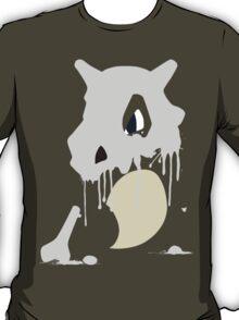 Cubone Paint Splatter  T-Shirt