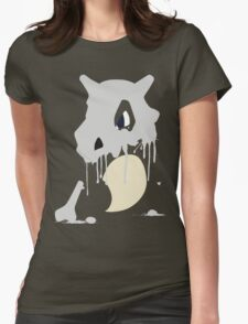 Cubone Paint Splatter  Womens Fitted T-Shirt