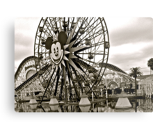 Mickey's Ferris Wheel Metal Print