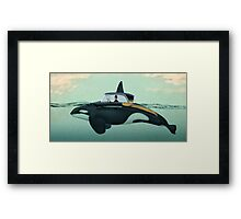 The Turnpike Cruiser of the sea Framed Print
