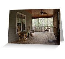 Relax and Enjoy the View Greeting Card