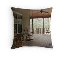 Relax and Enjoy the View Throw Pillow