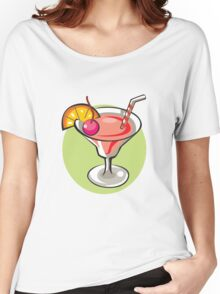 Strawberry drink Women's Relaxed Fit T-Shirt