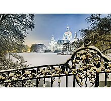 Winter in Hannover, Germany Photographic Print