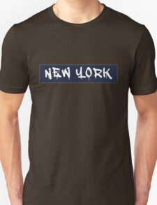 New York (Yankees Colors) T-Shirt