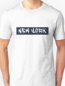 New York (Yankees Colors) T-Shirt