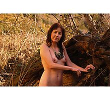 Natural Lady Photographic Print