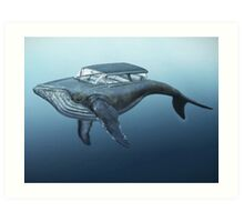 Mercury cruiser of the sea Art Print