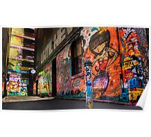 Hosier Lane No 1 Poster