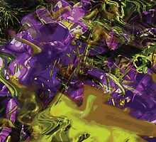 Rhythm's of Spring Digital Image 3 by Kenneth Grzesik