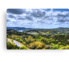 HDR 360 Bridge Canvas Print