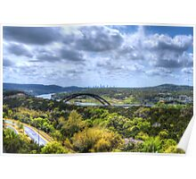 HDR 360 Bridge Poster