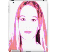 Girl in Pink iPad Case/Skin