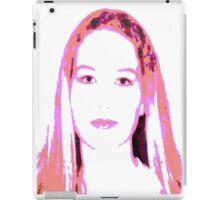 Pink Girl iPad Case/Skin