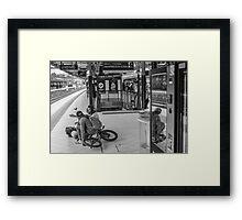 Melbourne Bikers Framed Print