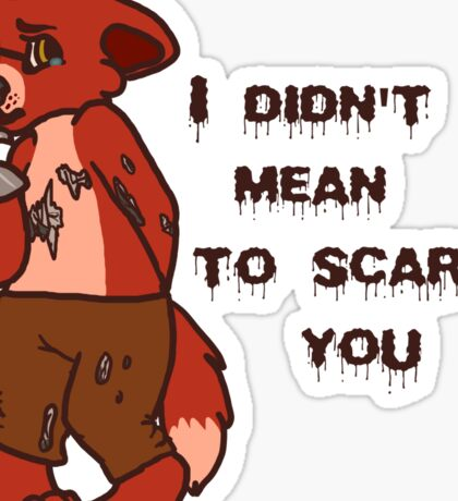 Innocent Foxy Sticker