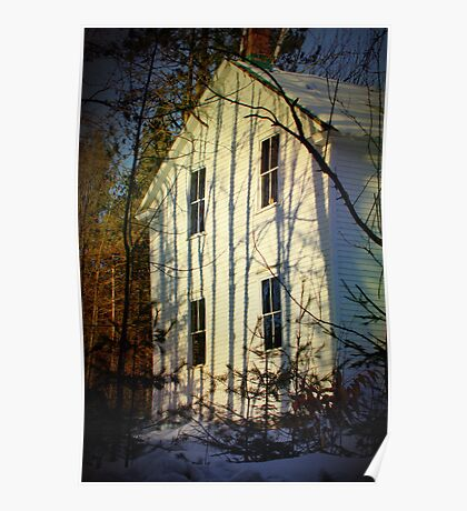 Shadows on the Old Meeting House Poster