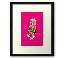 Punk!Rose Framed Print