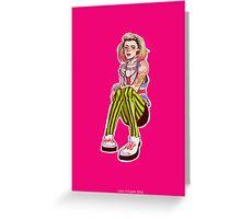 Punk!Rose Greeting Card