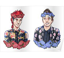 Flower Crowns Poster