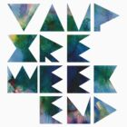 Vampire Weekend (blue) by merched