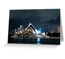 The Sydney Opera House Greeting Card