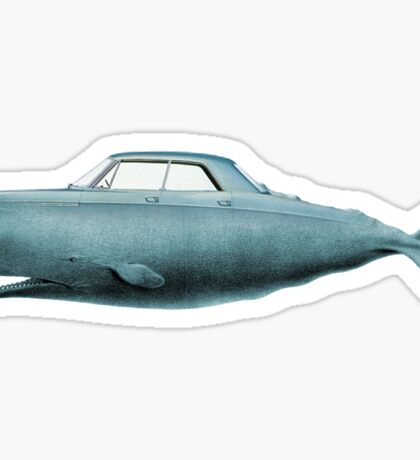 the Buick of the sea Sticker