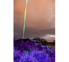 Green Streak Photographic Print